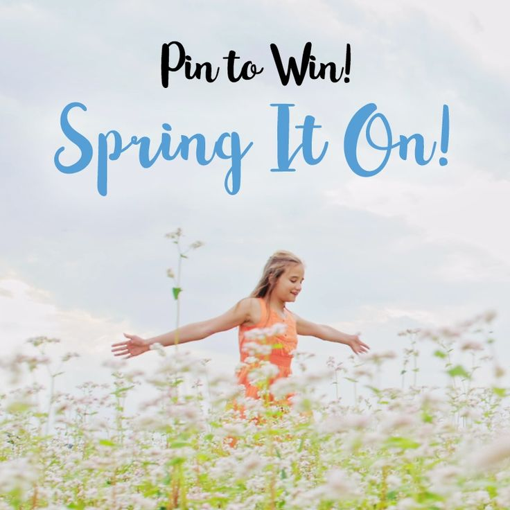 Pin to Win! From May 10th-16th, Pin to Win with Ebates.ca during Spring It On! 1 lucky winner will win $100 in their Ebates.ca account! Good Luck, Savvy Shoppers!