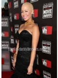 Amber Rose Black Strapless Mermaid Prom Dress Formal Gown 16th annual Critics' Choice Movie Awards - TheCelebrityDresses