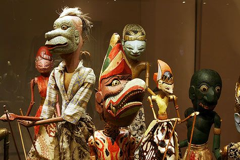 rod puppets   Wayang Golek (Rod Puppets)   IndonesiaCultures.Com