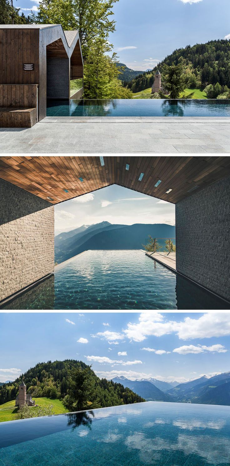 The MiraMonti Boutique Hotel in South Tyrol, Italy by Heike Pohl and Andreas Zanier of Arch-Tara
