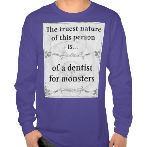 #dentist #monsters #monster #teeth #fangs #claws #hair #tentacles #mouth #cavities #eat #patient #zazzle