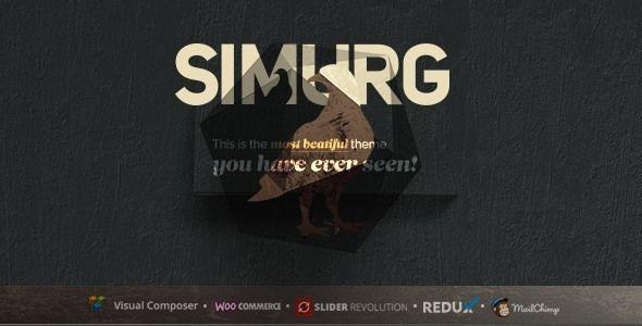 Simurg | Multi-Purpose WordPress Theme. Full view: https://themeforest.net/item/simurg-multipurpose-wordpress-theme/16347669?ref=thanhdesign
