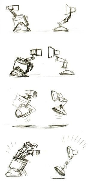 Wall-e #pixar #charactersketches #animation