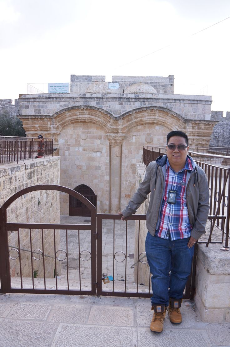 Golden Gate Jerusalem Israel 2013