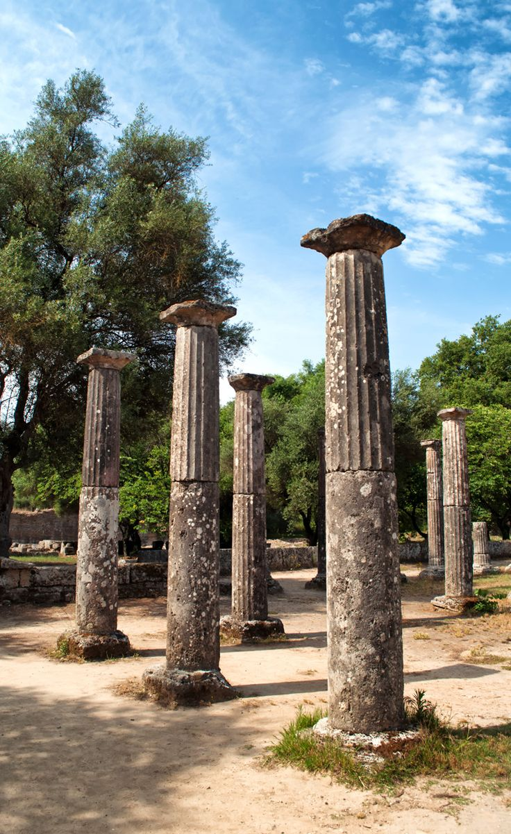 a look at the olympic games in ancient greece I'm talking about the great olympics of the ancient greeks, that  you'll note first  off that the great olympic tradition would look to your modern.