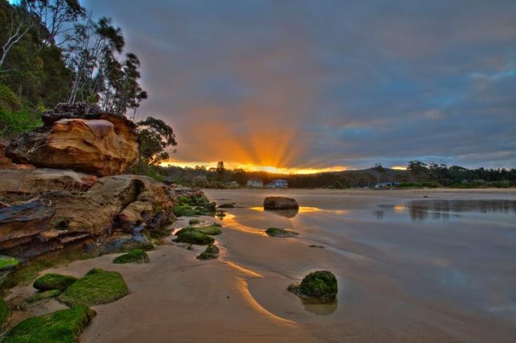 Umina Beach NSW at sunset (I live here!)