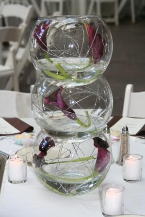 Centre Piece Glass Bowl Ideas