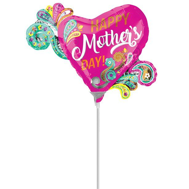Pin By Amor Sorpresa On Palloncino Mothers Day Balloons Foil Balloons Happy Mothers Day