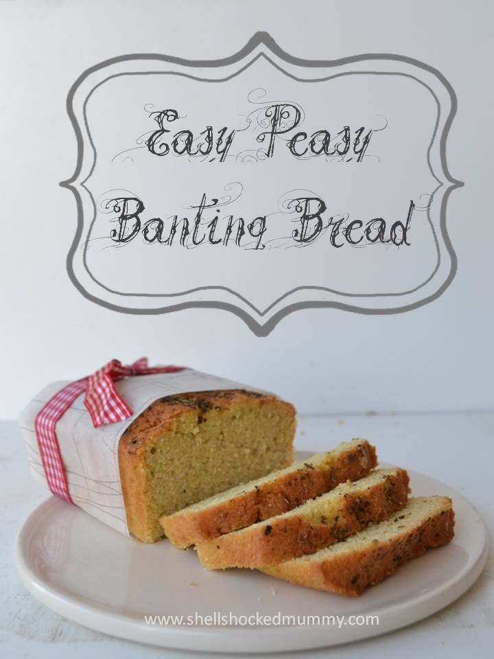Easy Peasy Banting Bread