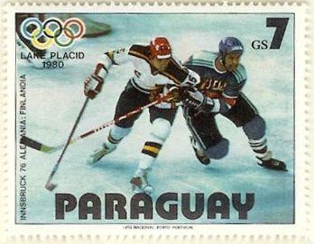 GER-FIN stamp - Hockey su ghiaccio ai Giochi olimpici - Wikipedia