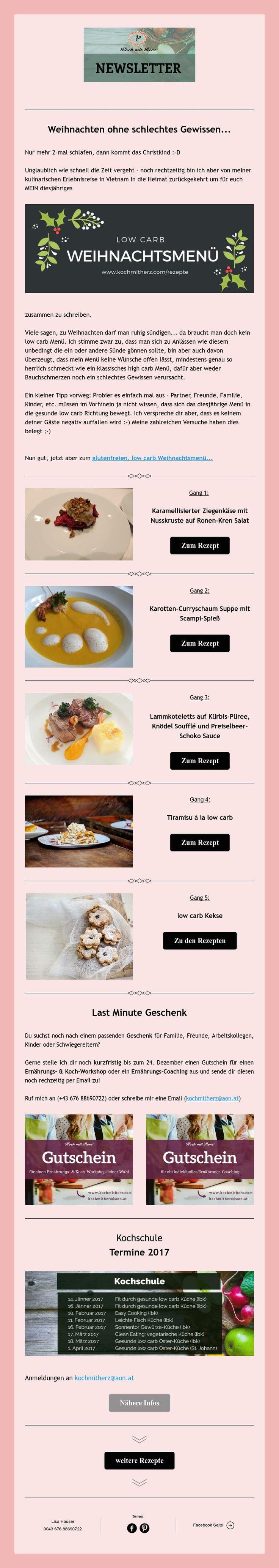 Martini Rezept • Essen gehen • Rabatt Aktion • Kochschule