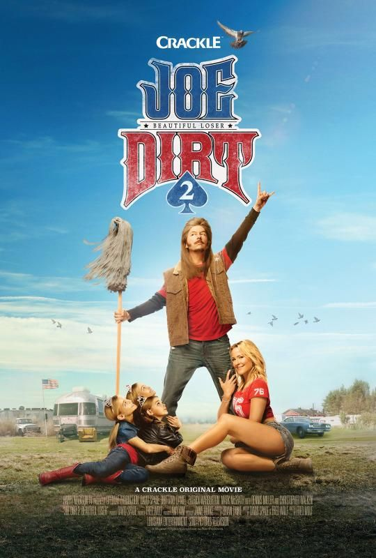 The new poster for 'Joe Dirt 2: Beautiful Loser.'
