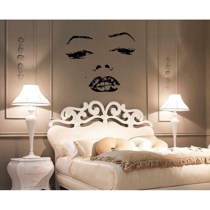 <li>Title: Marilyn Monroe Face Vinyl Sticker Wall Art</li><li>Artist: Stickalz</li><li>Product type: Vinyl wall art</li>