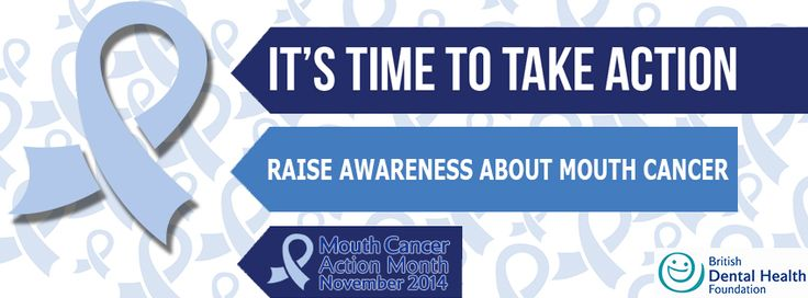 It's time to take action! Raise Awareness about Mouth Cancer! Mouth Cancer Action Month is a charity campaign which aims to raise awareness of mouth cancer and make a difference by saving thousands of lives through early detection and prevention. http://www.mouthcancer.org/what-is-mouth-cancer-action-month/ #MCAM14 #Bemouthaware