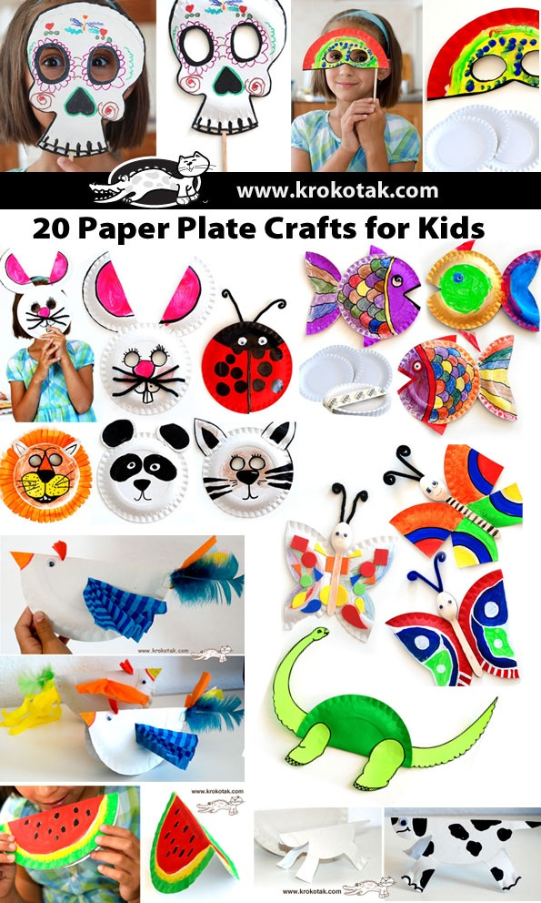 Paper Plate Crafts for Kids