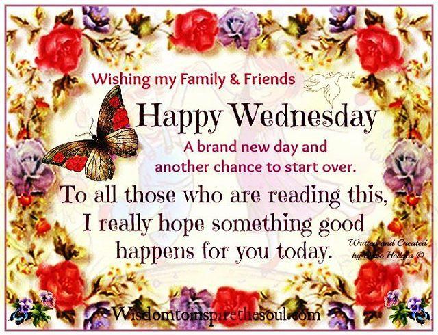 Happy Wednesday Peeps My Wish For
