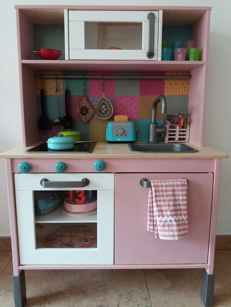Cocinita Ikea tuneada por la tieta  Olga!!!!!