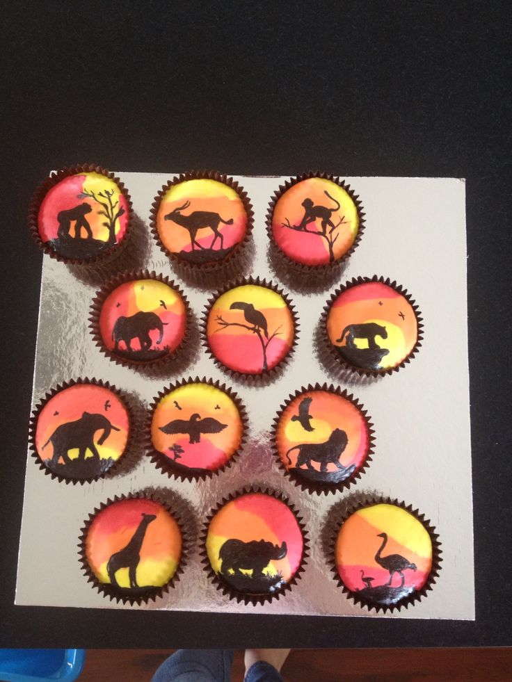 17 Best Images About Afrika Cupcakes On Pinterest Jungle