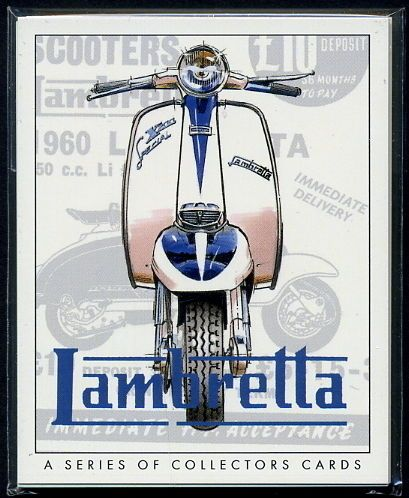 LAMBRETTA-CARDS-Models-C-D-LC-LD-Li-TV175-SX200-GP200