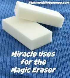 Print Miracle Uses for the Magic Eraser Instructions remove dried paint from door hinges remove tarnish from silver remove mold & mildew from anything plastic clean & polish gold jewelry remove soap scum in the tub and shower remove marks on walls clean splatters inside the microwave remove marks on vinyl siding clean mirrors …