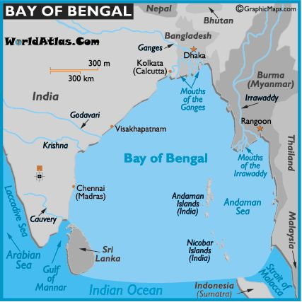 The Bay of Bengal is a northern extension of the Indian Ocean. I have seen it from Cox's Bazaar, Bangladesh.