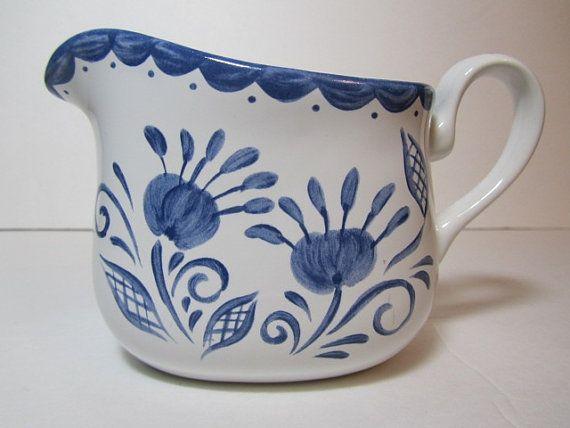 Corelle ware, blue and white , jug, creamer, dish, ceramic corelle blue, collectible ,corelle coordinates,