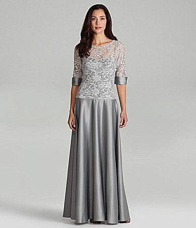 Js Collections Lace Gown Dillards Wedding 2 Pinterest