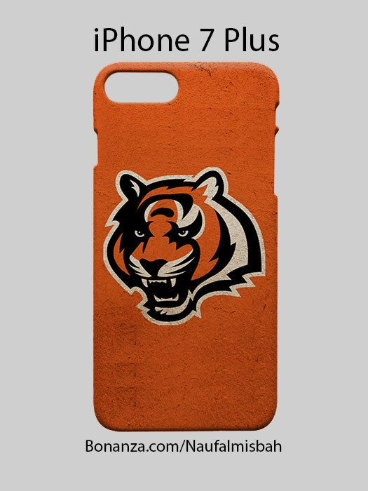Cincinnati Bengals Logo iPhone 7 PLUS Case Cover Wrap Around