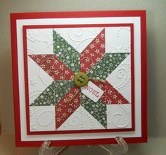 Practicing my Quilting by susanbri - Cards and Paper Crafts at Splitcoaststampers
