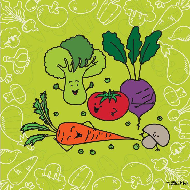 Happy Vegetables :D  www.tobeme.com.pl