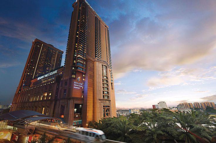 Berjaya Times Square Shopping Mall In Kuala Lumpur - Bukit Bintang Shopping