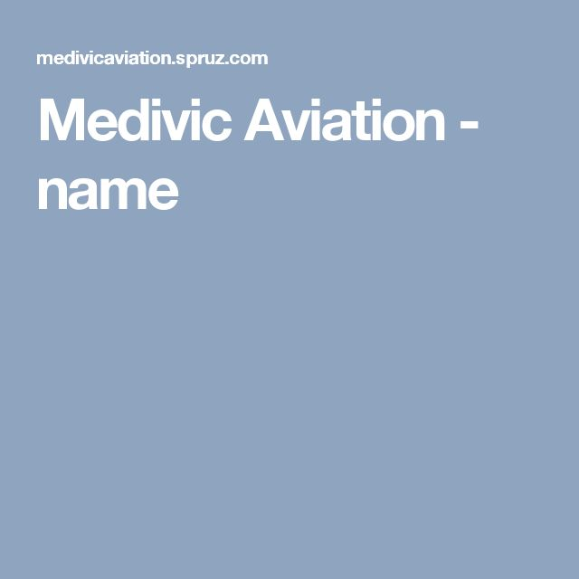 Medivic Aviation - name