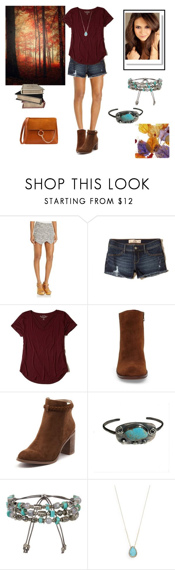 Mid-Season, Shorts and Boots by cat1906 on Polyvore featuring Hollister Co., Aqua, Billini, Kork-Ease, Accessorize and Natasha