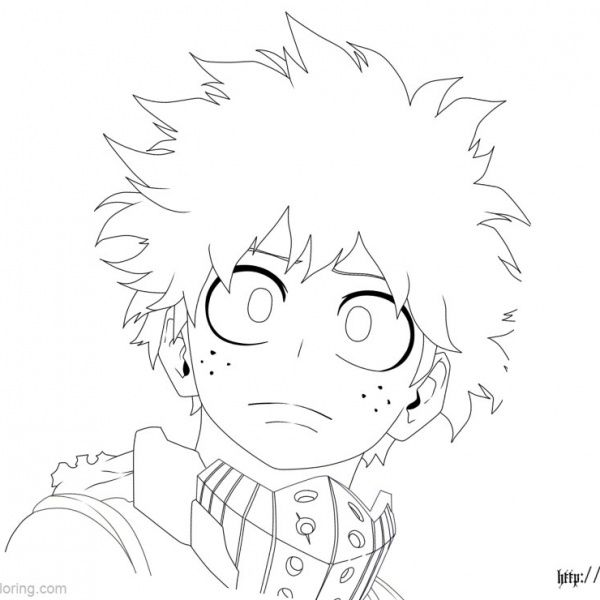 Boku No Hero Academia Coloring Pages Todoroki Lineart By Justaweirdgirl Free Printable Coloring Pag Cute Coloring Pages Anime Character Drawing Anime Lineart