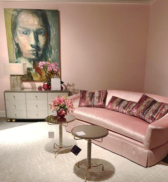 Softer side on trend at High Point Market -  The softer side...   it is kind of where I always find myself landing when it comes to decor and colors.         And often times, that mea...