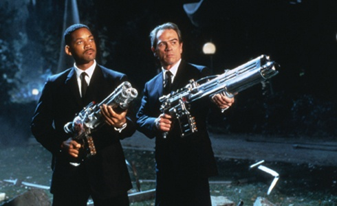 Parent's review and movie ratings for Men In Black. Helps you know if your kids can go!