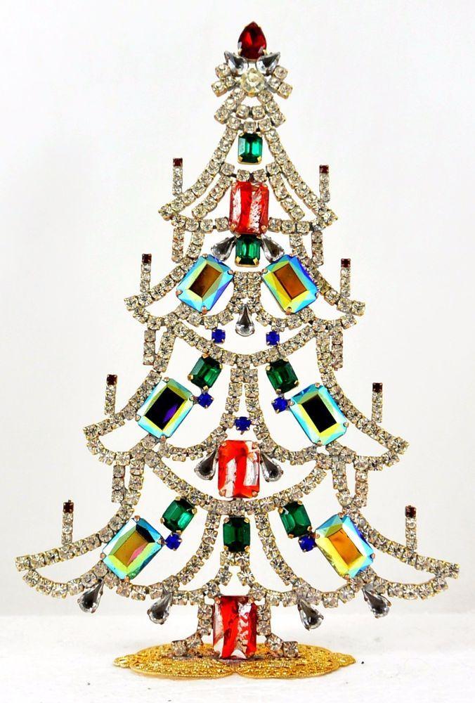 wondeful czech handmade christmas tree decoration signed taboo a 116 ebay - Ebay Christmas Trees