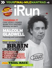 Cover photo of iRun Magazine | 2010 Issue 03  April 2010