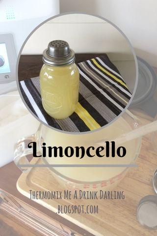 #Thermomix #Limoncello #recipe - See more at www.SuperKitchenMachine.com