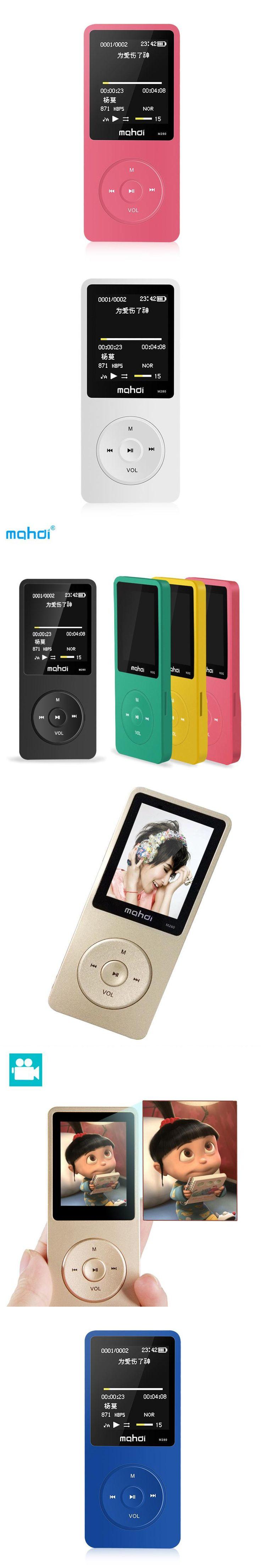 Mahid sports mp3 fidelity lossless music mini-screen recording pen 8GB extroverted player e-book, clock, data