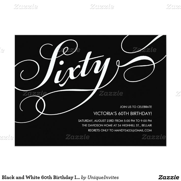 Best 25+ 60th birthday invitations ideas on Pinterest | 50th ...