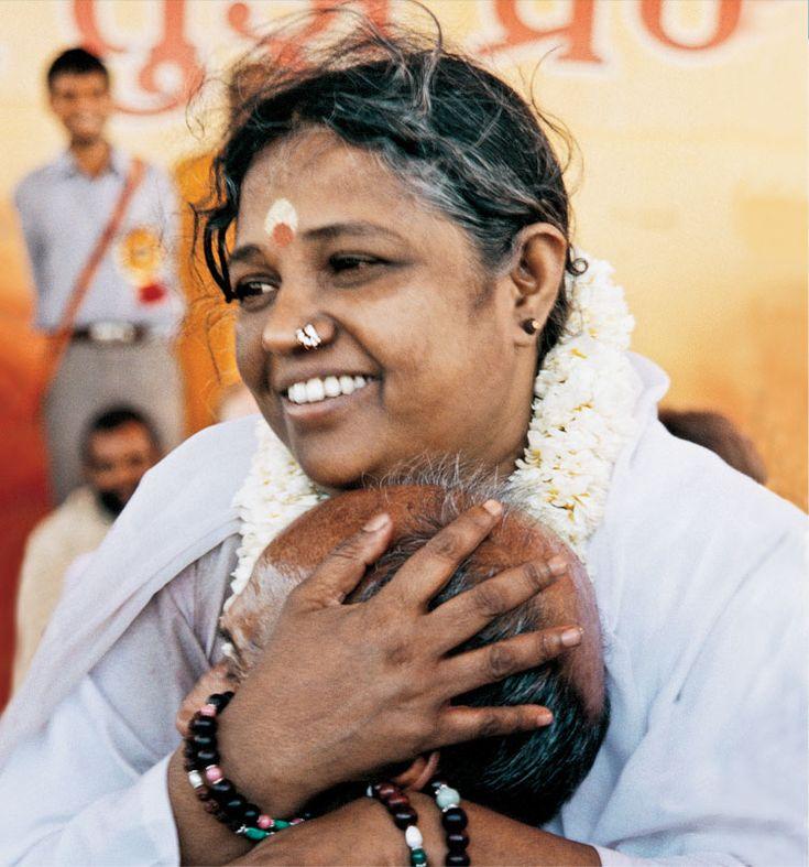 Amma (Mata Amritanandamayi) - Founder of Embracing the World