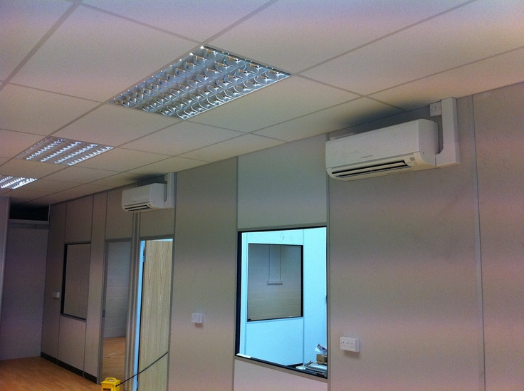 Two Mitsubishi Electric Msz Ge35 3 5kw Wall Mounted