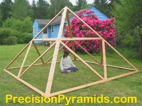 Great Pyramid Replica Meditation Pyramid