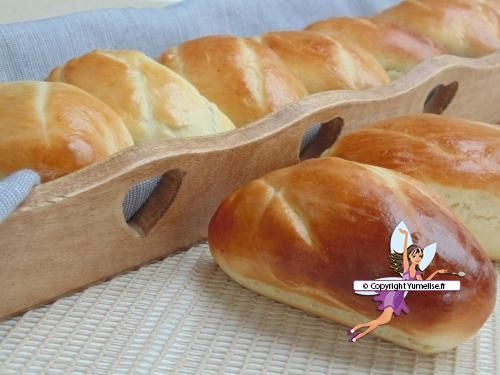 Pains au lait extra moelleux -Yumelise - recettes de cuisine - (French) - Soft Breads Extra Milk