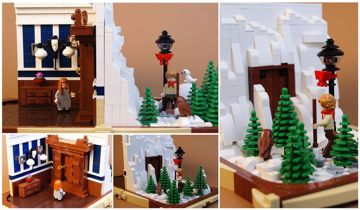 Lego Chronicles of Narnia - The Wardrobe   I've been meaning…   Flickr