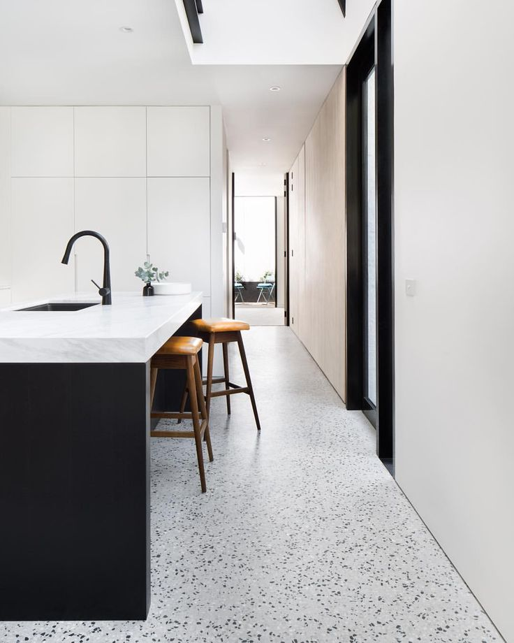 "609 Likes, 19 Comments - Cera Stribley Architects (@cerastribleyarchitects) on Instagram: ""York St House // The skylight above the kitchen area allows natural light to stream through the…"""