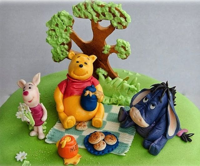 17 Best Images About Cakes Winnie The Pooh On Pinterest