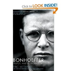 Bonhoffer, an amazing true story of a pastor with the charge to  assassinate Hitler during WWII.  Haven't read it yet but have heard amazing things.