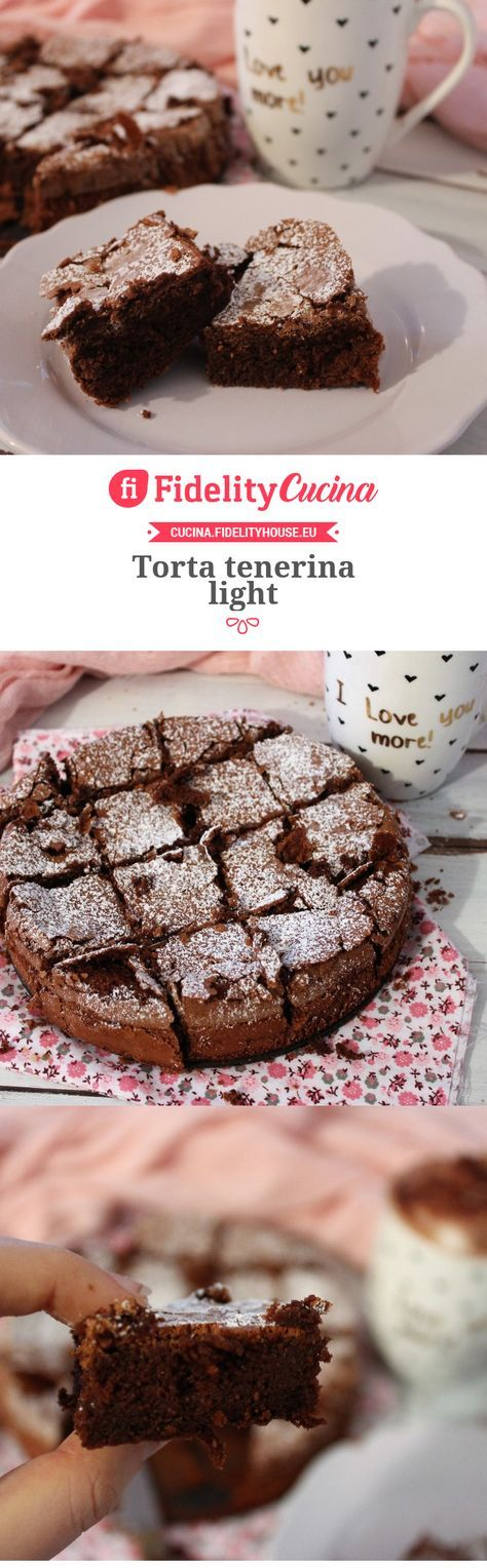 Torta tenerina light